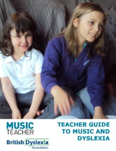 Help for Dyslexic music students